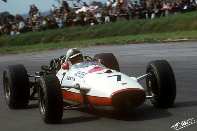 honda ra273 john surtees silverstone 1967 | f1 colors | Pinterest | Honda, Grand prix and Cars
