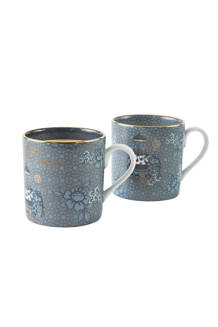 Indechine Tea Mug (Set of 2)