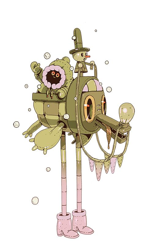 Character Design Vol # 1 on Behance