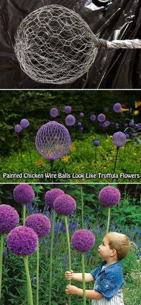 Cool DIY Garden Globes Make Your Garden More Interesting