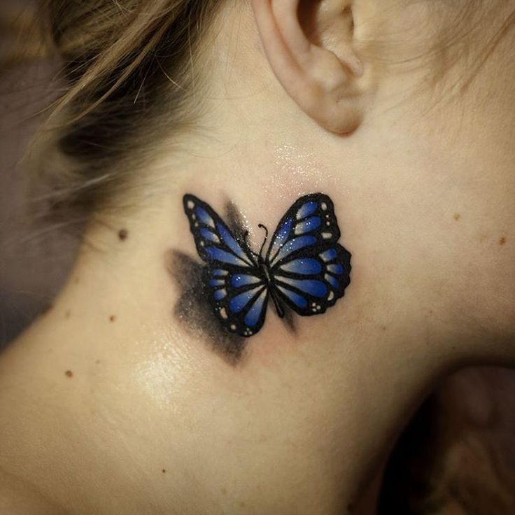 Butterfly Neck Tattoo: 851 Best Images About Tattoos On Pinterest