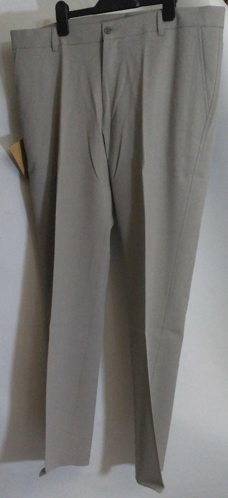 Men's 38W 31L FARAH Trousers CLASSIC Beige Biscuit Colour Smart New