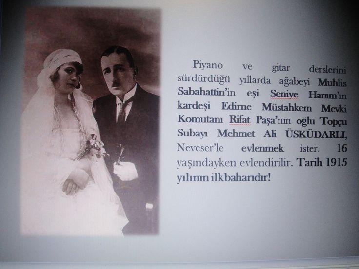 1915 yılının bir ilkbaharında 16 yaşındayken evlendirilir.