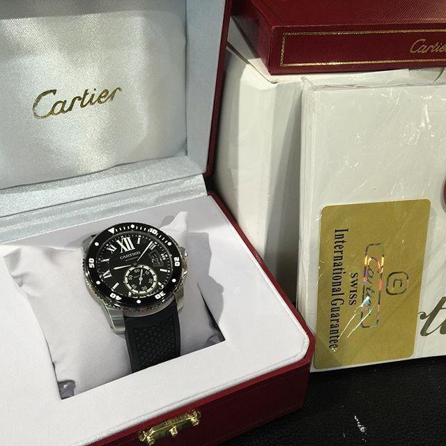 Cartier Calibre De Diver Ultimate Clone 1 1 Dgn Aslinya | WA 081283098098 | Harga Rp 6480000