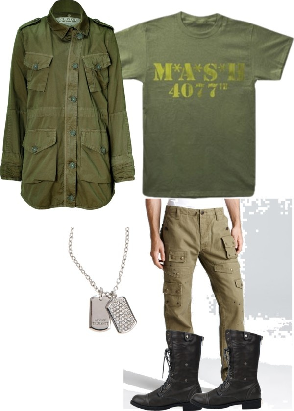 M*A*S*H 4077, created by brebre267 on Polyvore
