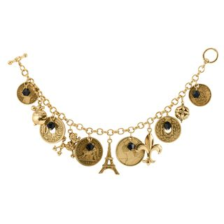 Shop for French Coin Charm Bracelet. Free Shipping on orders over $45 at Overstock.com - Your Online Jewelry Shop! Get 5�0in rewards with Club O!