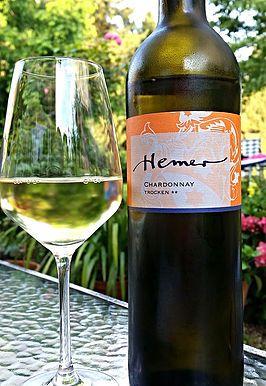 Veganer Wein von Hemer, Chardonnay aus naturgemäßem Anbau