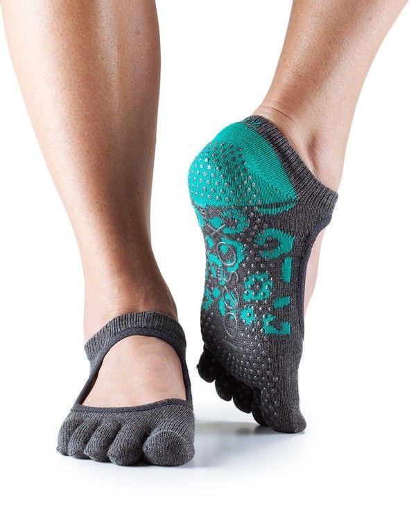 Great for yoga!  Full Toe Bella Grip Socks - GRIP SOCKS - Socks