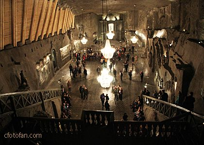 Wieliczka Salt Mine Chapel, Poland…Capilla de la Mina de Sal Wieliczka,Polonia