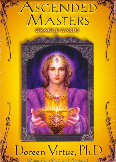 Ascended Masters Deck Doreen Virtue recommended to me by Shaman George...