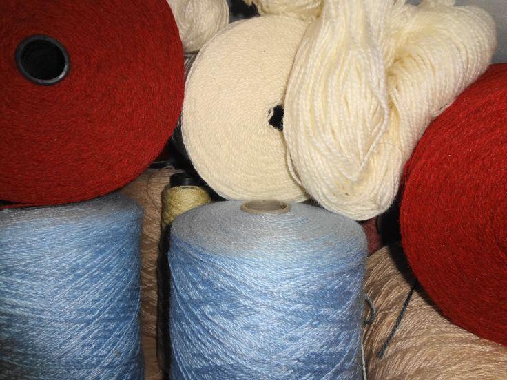Lã para tear