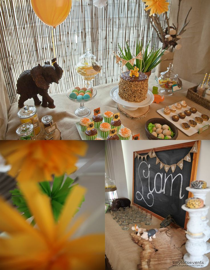 2nd Birthday Safari Party - Tiny Tots Events - Melbourne's Little People Parties specialist
