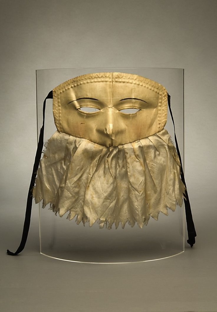 Mask, 1790s | National Board of Antiquities - Musketti | Museo Finna