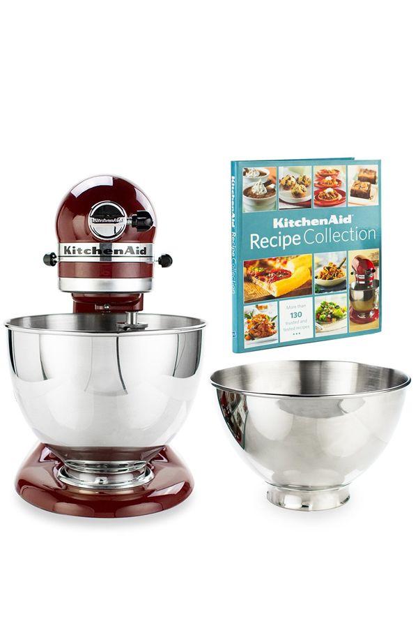 Kitchenaid 4 5 Quart Tilt Head Stand Mixer 3 Quart Bowl Gloss Cinnamon In 2020 Kitchen Aid Stand Mixer Mixer