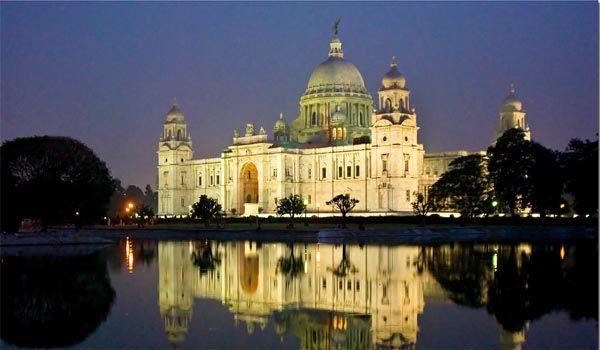 Victoria Memorial Located in Kolkata