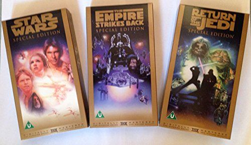 Amazon.co.uk: Buying Choices: Star Wars Trilogy (Special Edition) [Gold Box Set] [VHS]