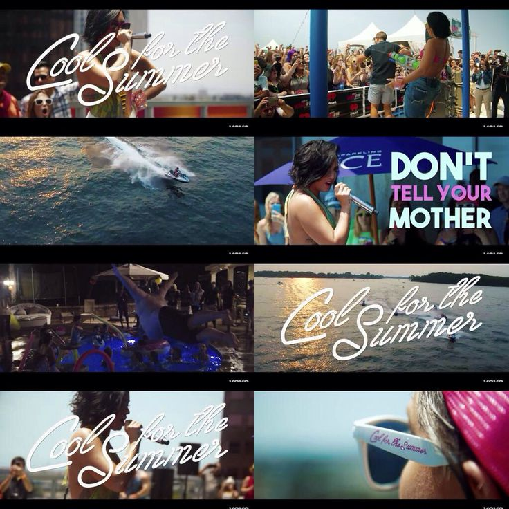 'Cool for the Summer' lyric video is out now!!