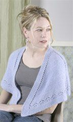 Comfort Shawl - Knitting Daily