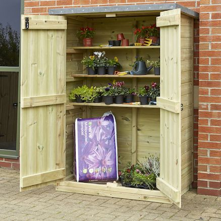 Awesome Outdoor Lockable Storage Cabinet