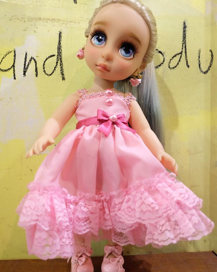 Doll Dress / Disney Animator Doll Rapunzel