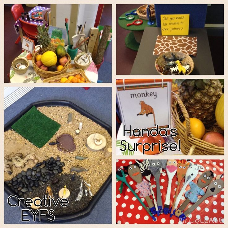 Handa's surprise EYFS Ideas!