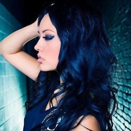 manic panic high voltage classic cream hair color 4oz - Blue Color Hair