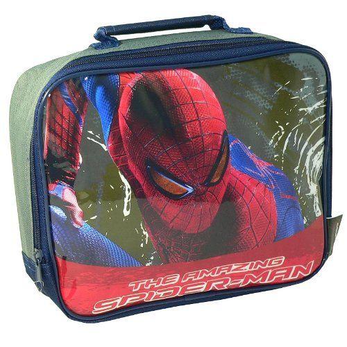 Spiderman 4 the Amazing Gray School Rectangle Lunch Bag @ niftywarehouse.com #NiftyWarehouse #Spiderman #Marvel #ComicBooks #TheAvengers #Avengers #Comics