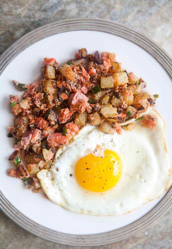 Smoked Salmon Hash Recipe in 2020 Salmon recipes