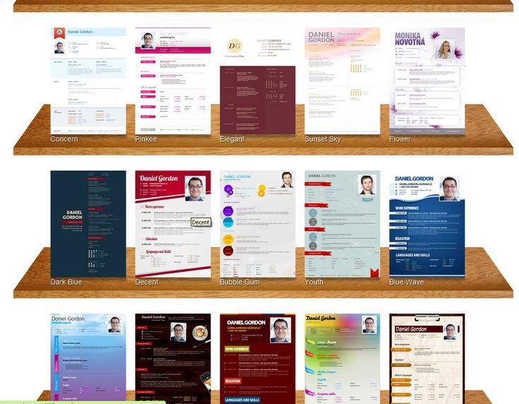159 best Creative Resume IDEAS @ Business Cards images on - build a resume online free download