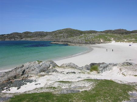 Achmelvich, on Sutherland's West Coast