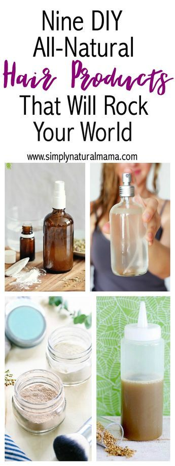 I love DIY projects, and I am so excited to make my own all-natural haircare. No longer will I need to buy shampoo, conditioner, and different styling products like hair gel! via @simplynaturalma