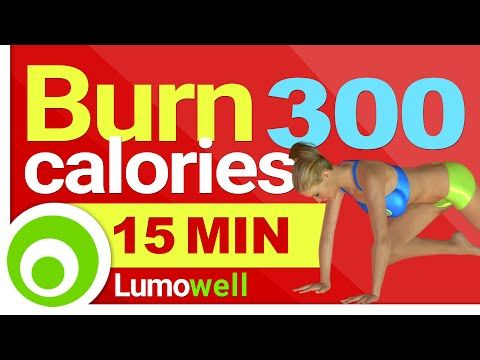 Burn 300 calories in 15 Minutes at Home - Fast Workout for Weight Loss - YouTube