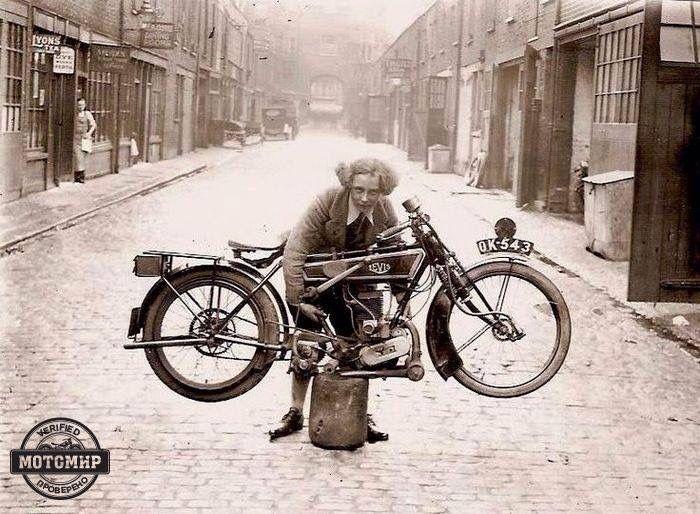 1923 Levis 246cc Klassieke motorfiets