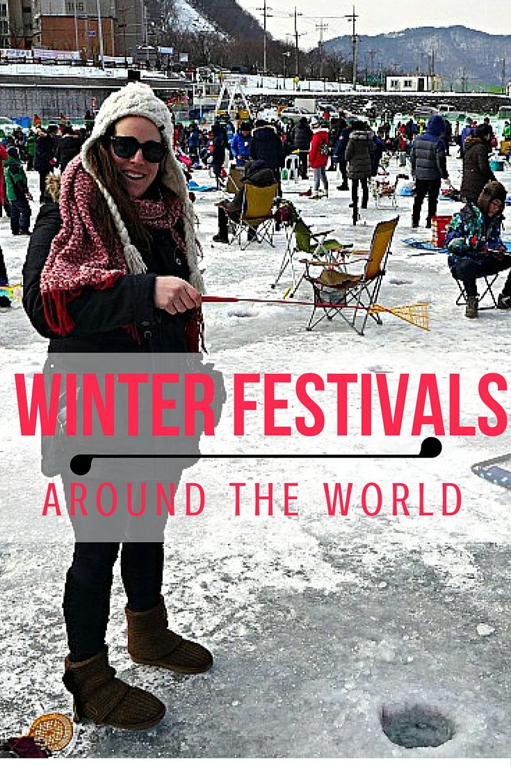 From South Korea to Alaska to Spain these 7 winter festivals are wild, wacky and wonderful!