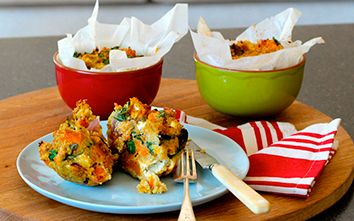 Celebrate Leftovers! Quinoa, Goat Cheese & Roast Vegetable Frittatas