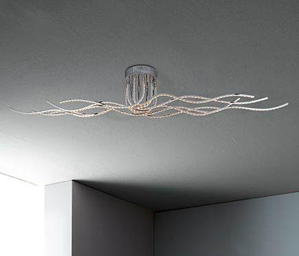 Plafón 10 luces Benett LED