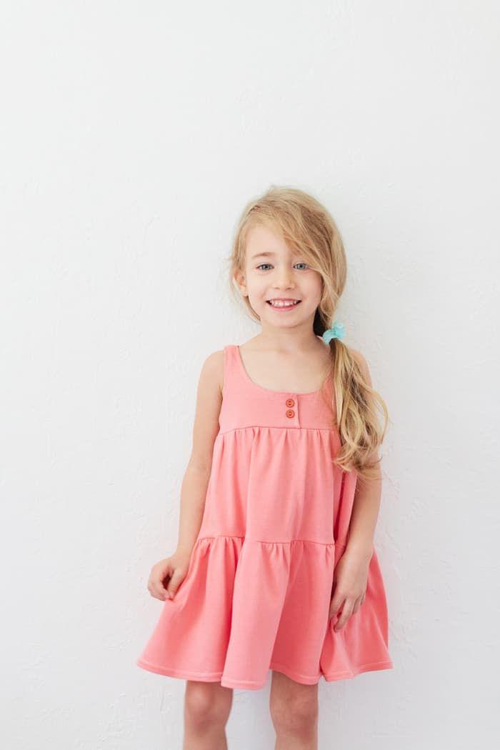 How to Sew a Jersey Knit Dress 2 Ways (Free Pattern