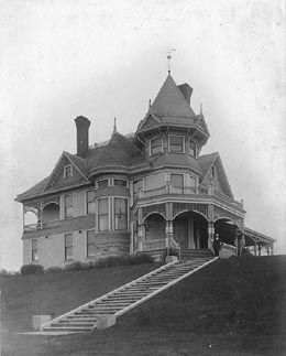 A Little Bit O' History  David Denny's House  Queen Anne Hill  UW Special Collections