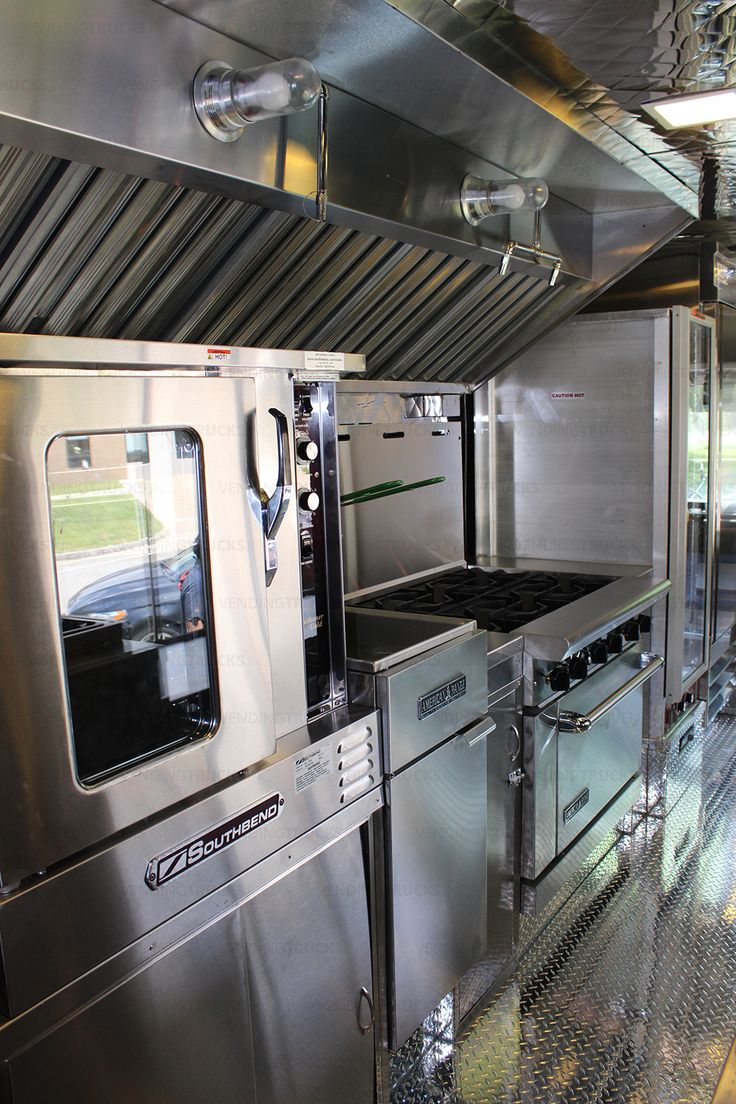 35 best vti mobile kitchen interiors images on pinterest kitchen some of the stainless steel appliances that this 18 foot truck was equipped with www