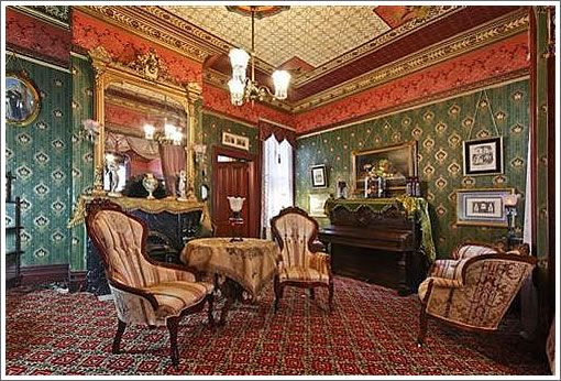 Steiner parlor victorianesque rooms pinterest for Parlor or living room