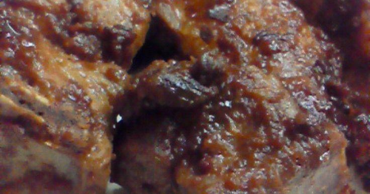 お肉を漬け込んで、レンジでチン♪ 意外に簡単、手間要らず! 楽チン豪華メニューです(笑) 手羽元でもおいしいよ♪
