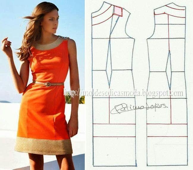 3b82131237a  выкройка платья из остатк - Самое интересное в блогах