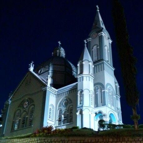 Church located in São Pedro de Alcântara, the first German speaking colony of the state of Santa Catarina, Brazil. #german #Deutsch #morotola #motog