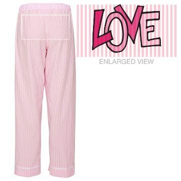 Love Hippie Style Seersucker Pajama Pants