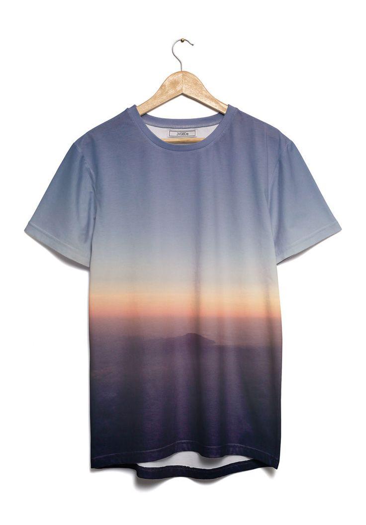 vstefyvs T-Shirt Mt. Prau from air view