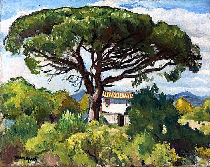 bofransson:  ALBERT MARQUET 1875 - 1947 - PIN À SAINT-TROPEZ