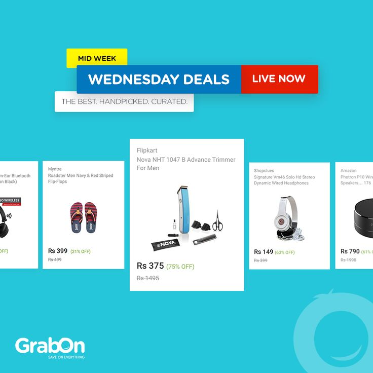 It's Wednesday! As promised, we've handpicked the best & most unique deals on the internet, just for you! Check 'em out!  #WednesdayDeals #DealOfTheDay #Deals #Offers #OnlineShopping #india