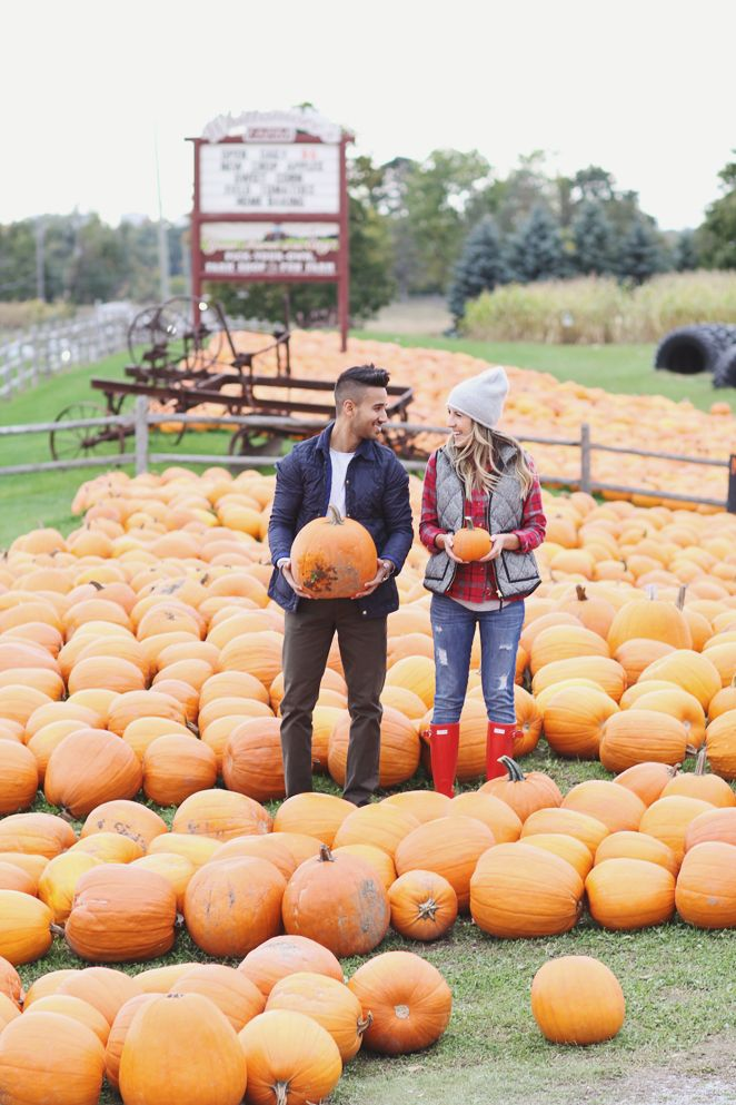 Fall Date Ideas: Pumpkin Picking