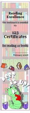 Printable bookmarks, bookmark awards, bookmark maker, reading awards; 100%…