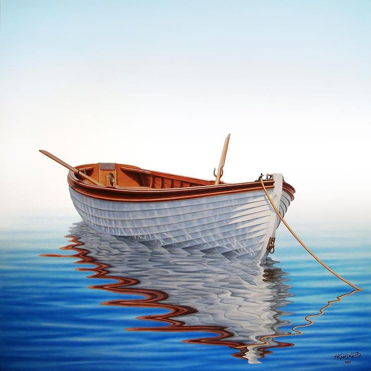 watercolor boat